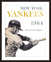 1964 new york yankees art (1) Picture Frame print