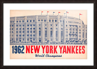 1962 new york yankees world champions Picture Frame print