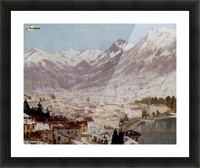 A view of Como Picture Frame print