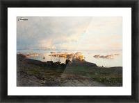Summer night in Lofoten Picture Frame print