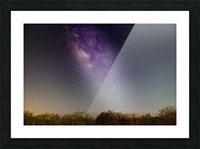 Milky Way Picture Frame print