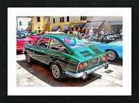 Fiat 850 Sport Coupe Picture Frame print