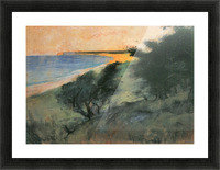 Coast of Rugen by Lesser Ury Picture Frame print