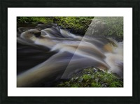 Waterfall Country at Pontneddfechan Picture Frame print