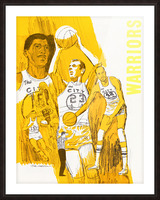 1969 San Francisco Warriors  Picture Frame print