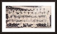 1963 la dodgers world champions team photo Picture Frame print