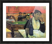 Madame Ginoux in Cafe by Gauguin Picture Frame print