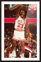 1987 michael jordan chicago stadium poster Picture Frame print
