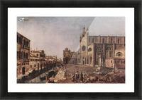 Campo santi Giovanni e Paolo, Venice Picture Frame print