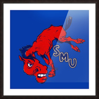 1950s SMU Picture Frame print