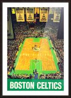 1988 Boston Celtics Boston Garden Art Picture Frame print