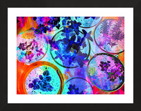 Psychedelic Herbs Picture Frame print