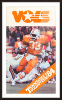 1984 tennessee vols college football poster Picture Frame print
