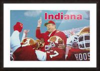 1987 indiana hoosiers iu football wall art Picture Frame print
