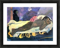 Manao Tupapau by Gauguin Picture Frame print