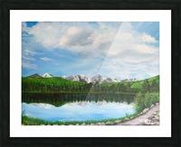 Sprague Lake CO Picture Frame print