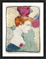 Marcellle Lender by Toulouse-Lautrec Picture Frame print
