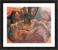 Crucify by Lovis Corinth Picture Frame print