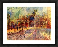 Marcus place in Venice Picture Frame print
