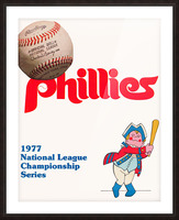 1977 philadelphia phillies national league championship series poster Picture Frame print
