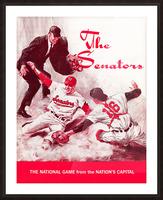 1968 washington senators baseball art Picture Frame print