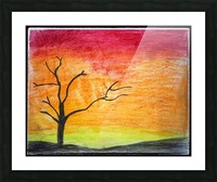 Tree Picture Frame print