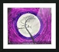 Moon Picture Frame print