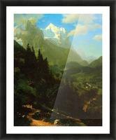Matterhorn by Bierstadt Picture Frame print
