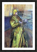 Maurice Joyant at the Bay Somme by Toulouse-Lautrec Picture Frame print