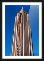 Bank of America Building   Atlanta GA 6630 Picture Frame print