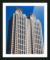 191 Peachtree Tower   Atlanta GA 6969 Picture Frame print