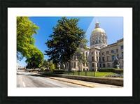 Georgia State Capitol Building   Atlanta GA 6984 Picture Frame print