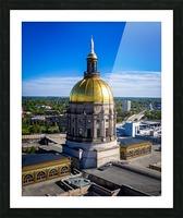 Georgia State Capitol Building   Atlanta GA 0636 Picture Frame print