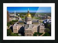Georgia State Capitol Building   Atlanta GA 0639 Picture Frame print