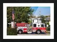 City of Atlanta Fire Engine No 29 6648 Picture Frame print