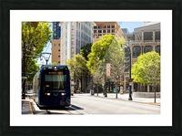 Atlanta Streetcar   Atlanta GA 6944 Picture Frame print