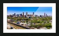 Atlanta GA  Panoramic Skyline 0618 Picture Frame print