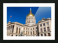 Georgia State Capitol Building   Atlanta GA 7220 Picture Frame print