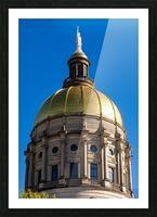 Georgia State Capitol Building   Atlanta GA 7190 Picture Frame print