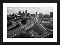 Interstate 75 85 Aerial View   Atlanta GA 0225_1596639055.5636 Picture Frame print