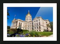 Georgia State Capitol Building   Atlanta GA 7236 Picture Frame print