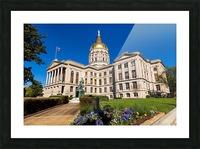 Georgia State Capitol Building   Atlanta GA 7215 Picture Frame print