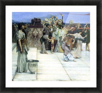 A consecration of Bacchus, detail -1- by Alma-Tadema Picture Frame print