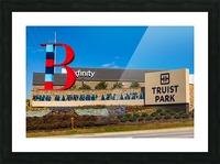 Truist Park   The Battery Atlanta GA 6703 Picture Frame print