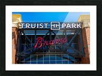 Truist Park   The Battery Atlanta GA 6748 Picture Frame print