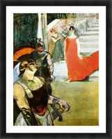 Messalina Descending by Toulouse-Lautrec Picture Frame print