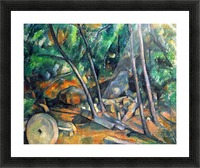 Mill Stone by Cezanne Picture Frame print