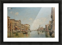 View of the Grand Canal of Venice Picture Frame print