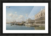 The Doge Palace and Santa Maria Della Salute Picture Frame print