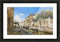 Canale San Giuseppe, Venezia Picture Frame print